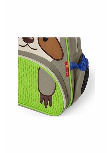 Skip Hop Skip Hop ETembel Hayvan Desenli Renkli Çocuk Sırt Çantası Yeşil